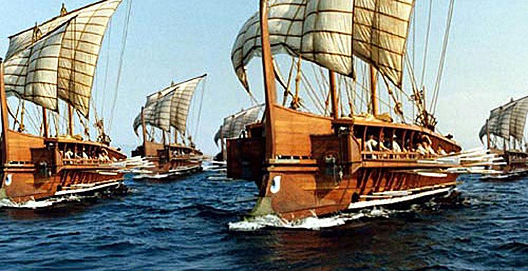 атинския боен флот