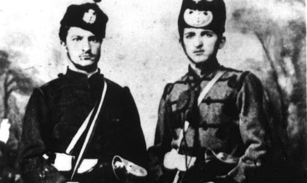 Златьо Ошански и Александър Василев