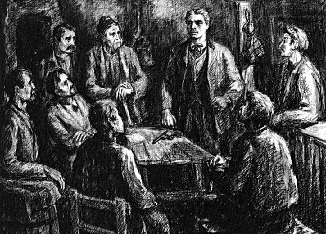 Левски основава революционен комитет – Ценко Бояджиев