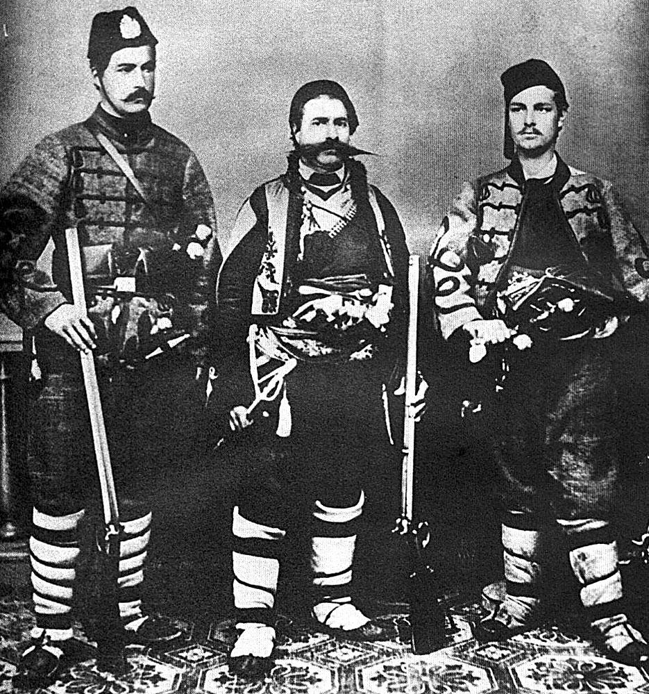 Войводата Панайот Хитов с другари