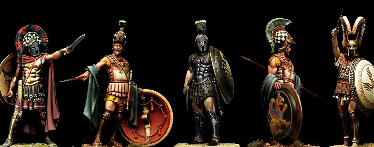 пелопонески войни, хоплити