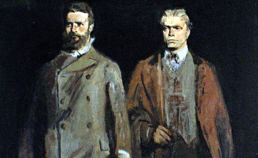 Васил Левски и Христо Ботев , Александър Поплилов 1976г.