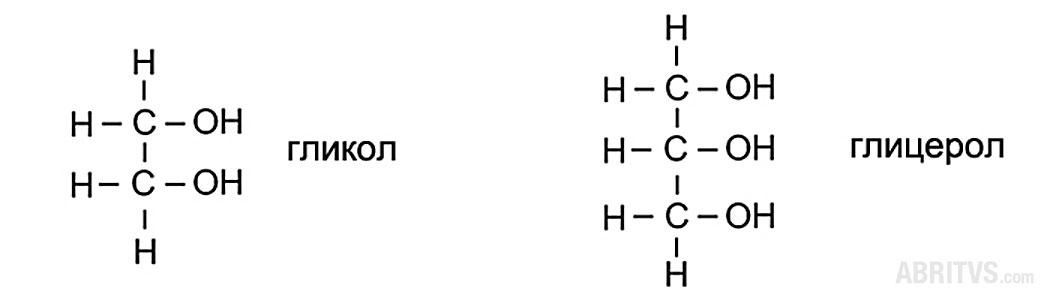 ди- и трихидроксил производни