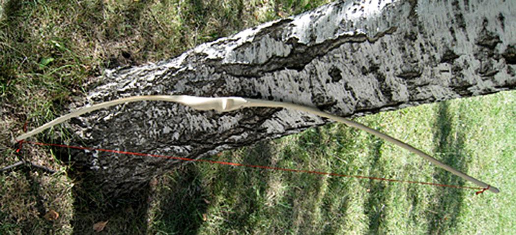 Примитивен дървен лък