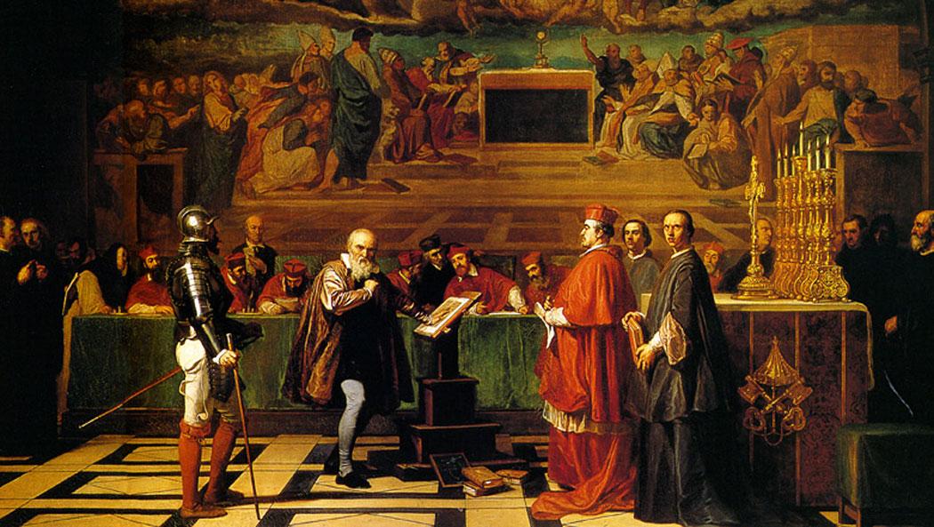 Галилео Галилей пред Светата инквизиция