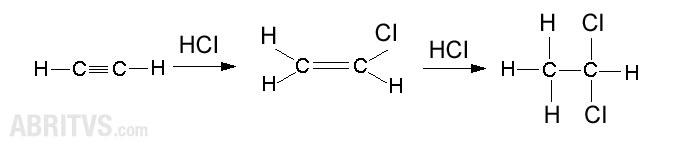 присъединяване на полярна молекула