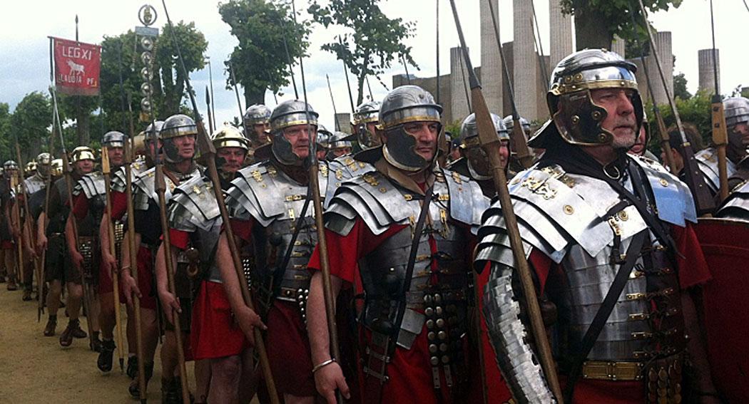 легионите на ранната Империя