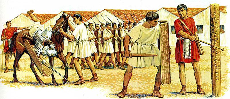 римски легионери