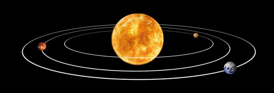 атом - планетарен модел