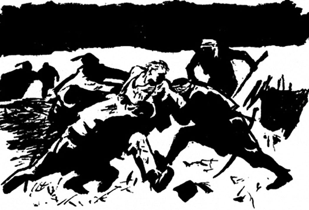 Залавянето на Левски – Борис Ангелушев 1963г.