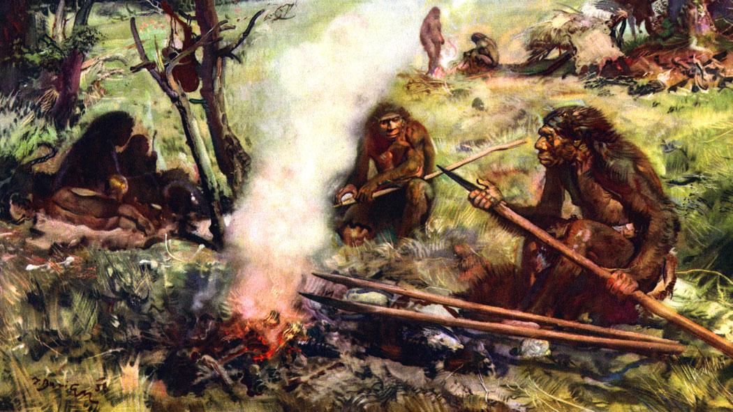 Прачовеци край огъня