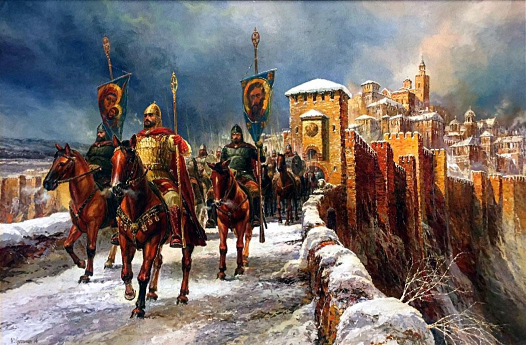 цар Калоян, Царевец