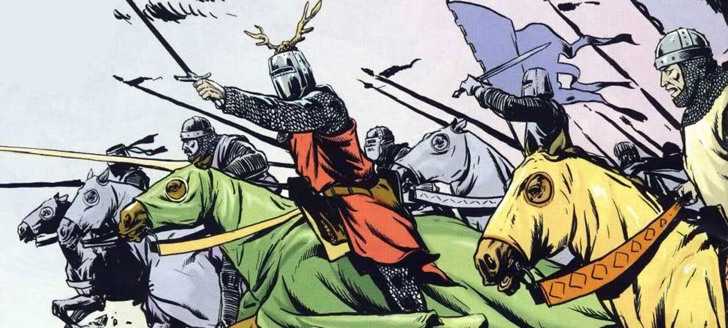 Щурмът на рицарите, цар Калоян