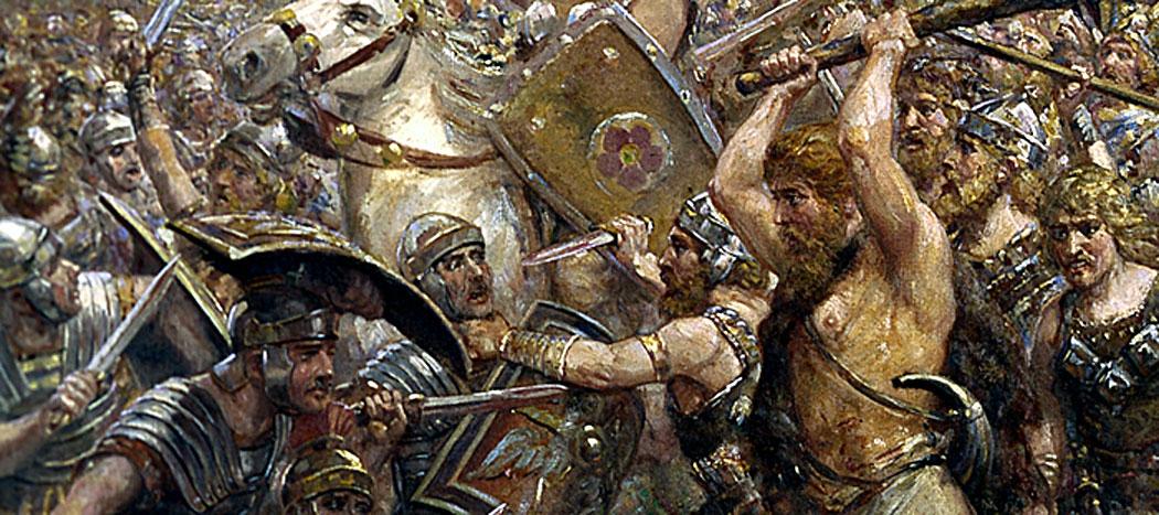 Битката в Тевтобургската гора