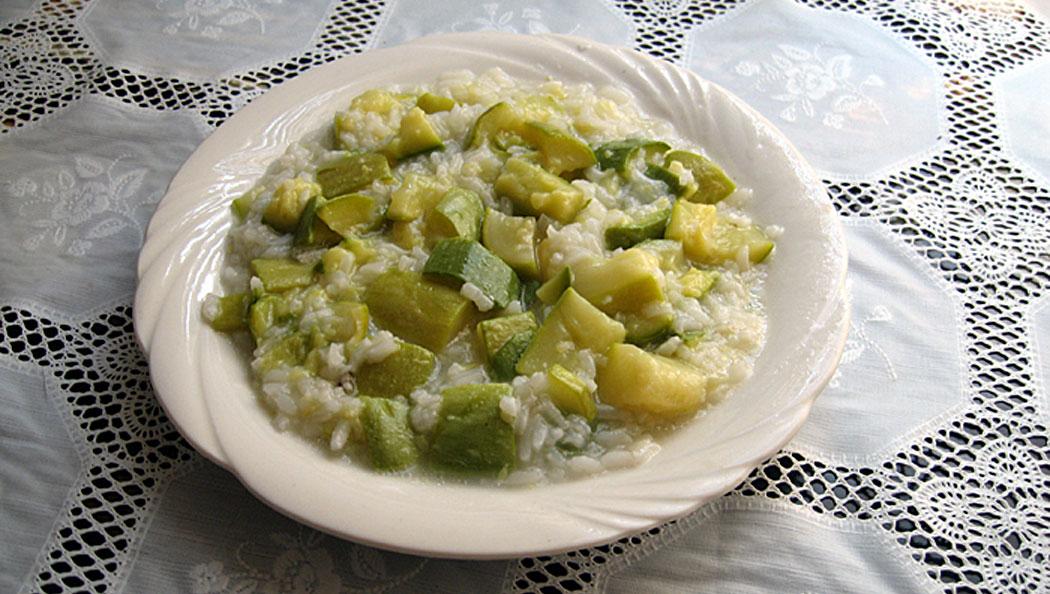 Постни тиквички с ориз