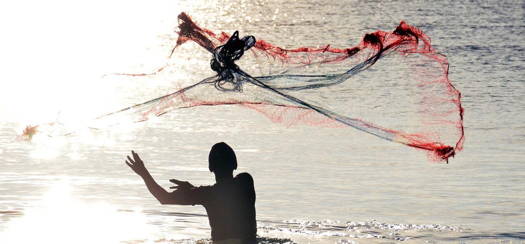 риболов с мрежа