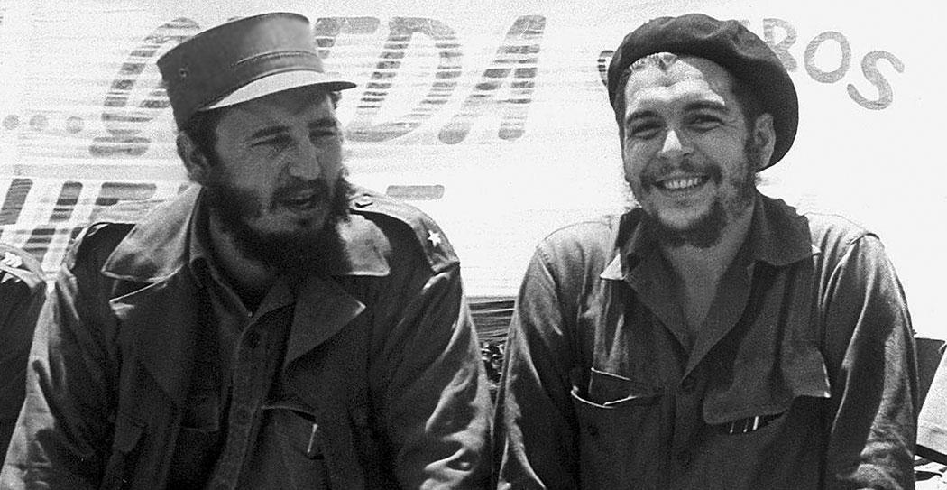 Фидел Кастро и Ернесто Гевара - Че
