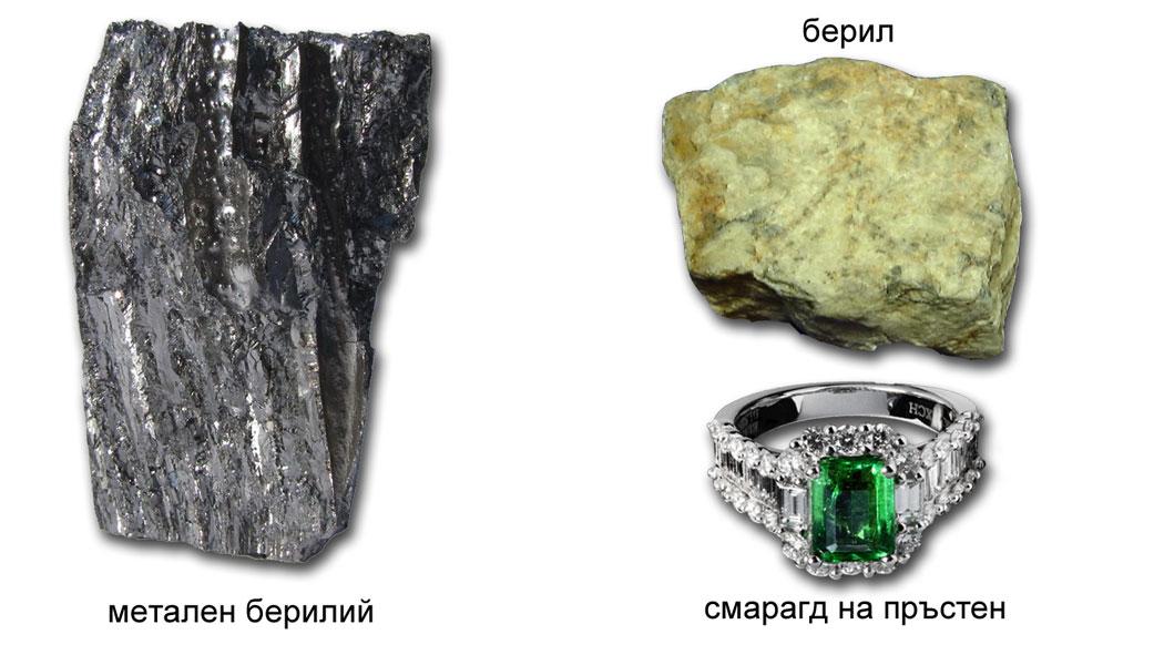 берилий, IIА група