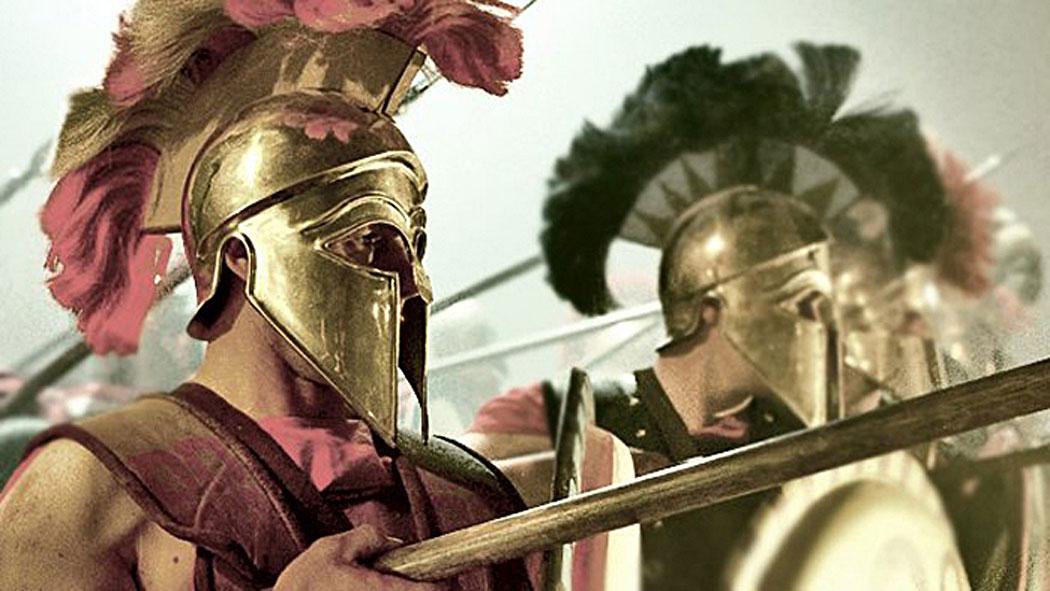 спарта, спартанци