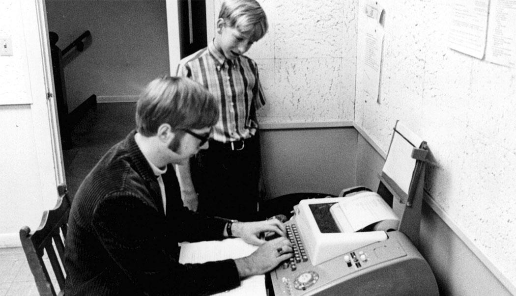 Бил Гейтс и Пол Алън