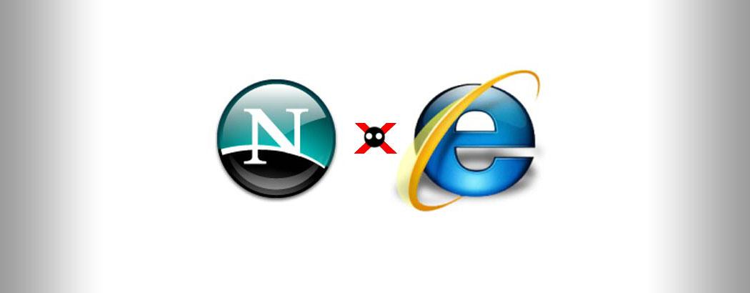 Нетскейп срещу Майкрософт (IE)