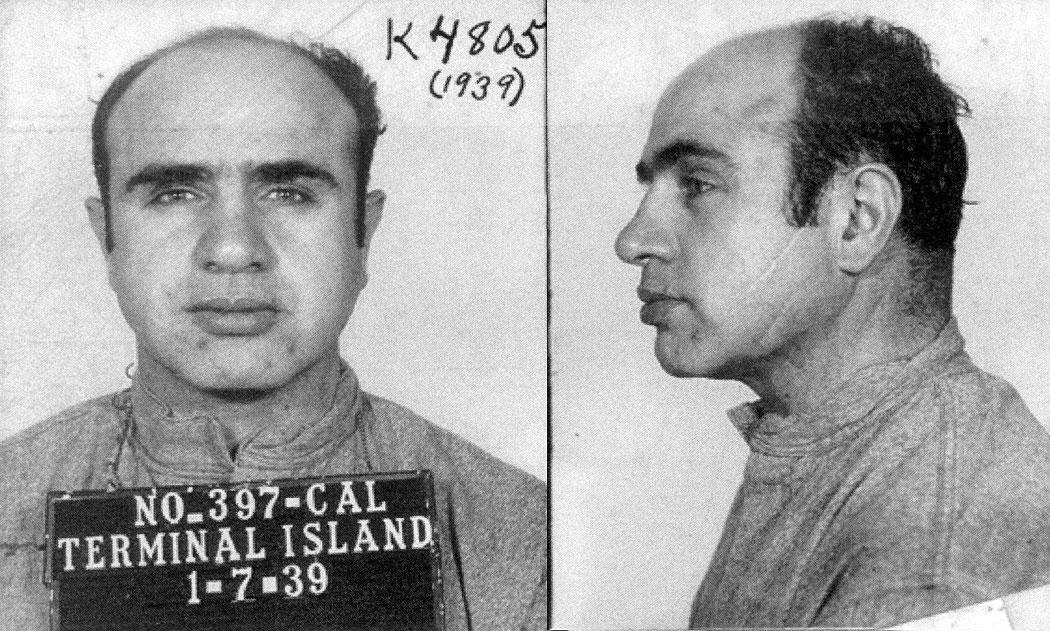 Ал Капоне в Алкатраз
