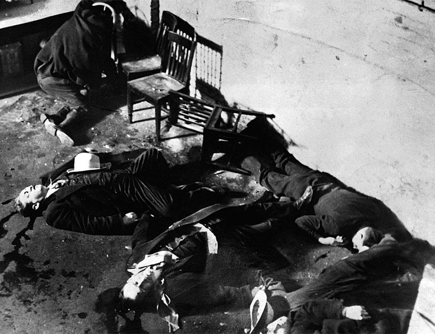 ал капоне, клането на свети валентин
