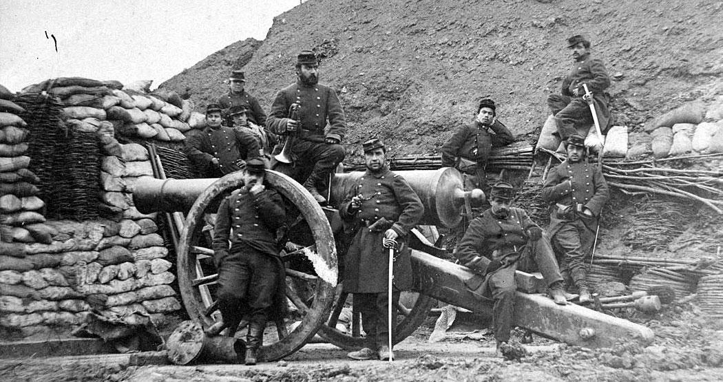 френски артилеристи