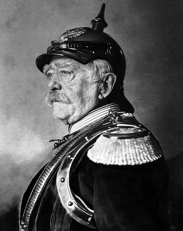 Ото фон Бисмарк, Германия