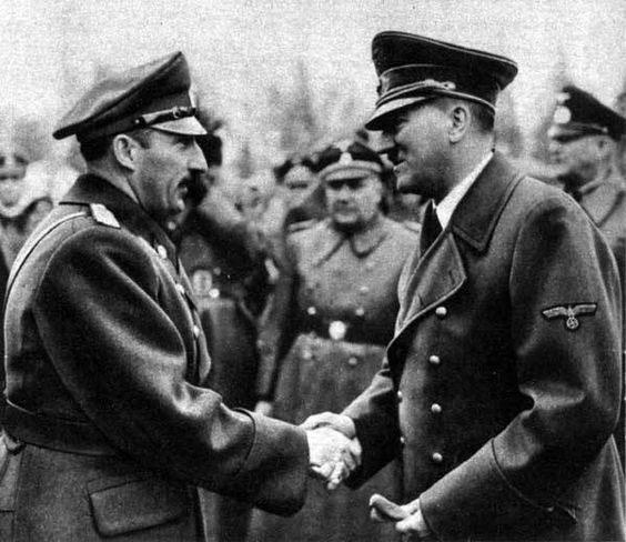Борис III и Адолф Хитлер
