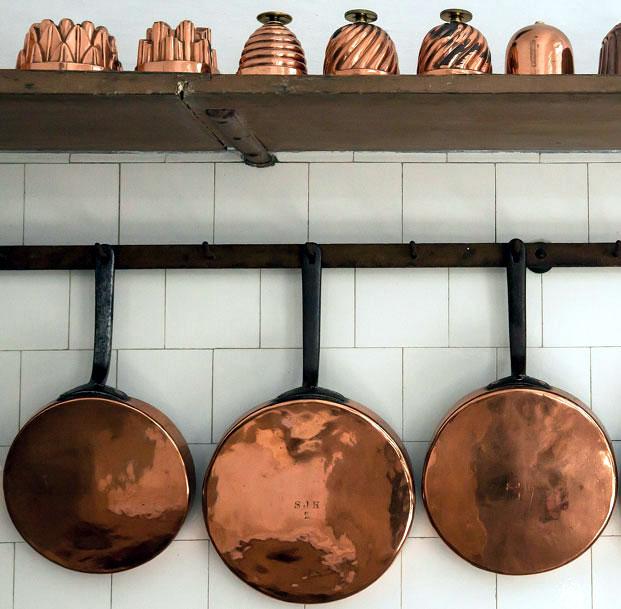 мед 11 група, медта се използва дори за кухненски съдове и готварска посуда