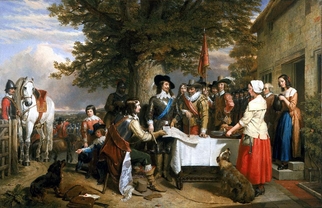Чарлз I Стюарт, Английската революция, гражданската война в Англия