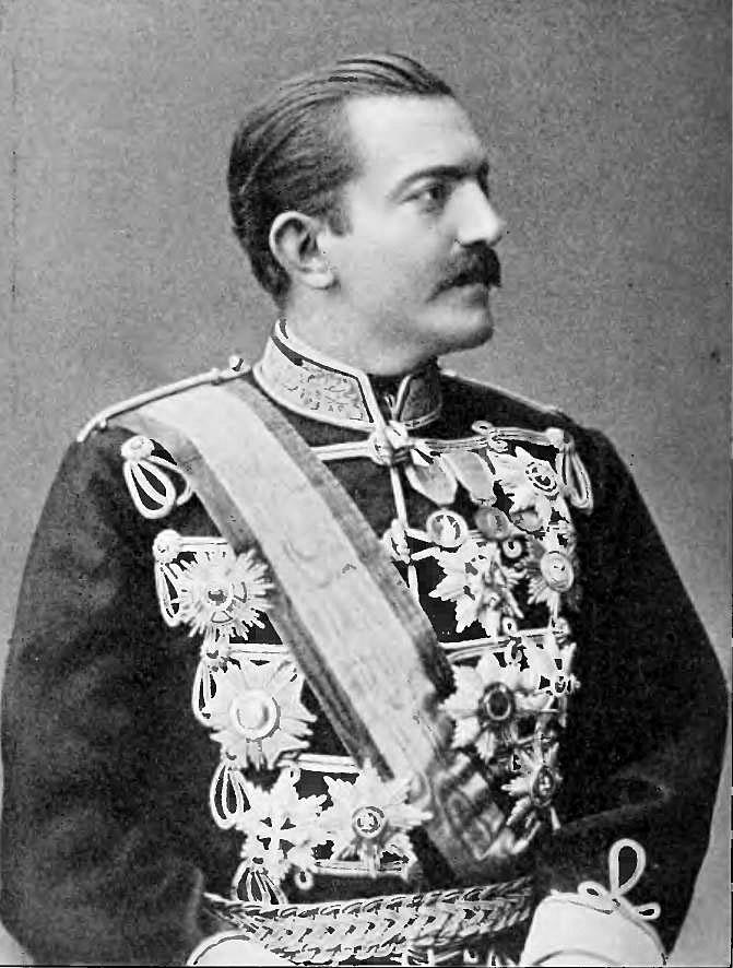 Крал Милан Обренович, сръбски князе