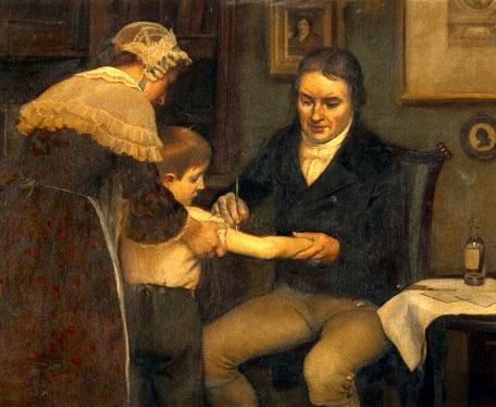 Едуард Дженър, ваксиниране