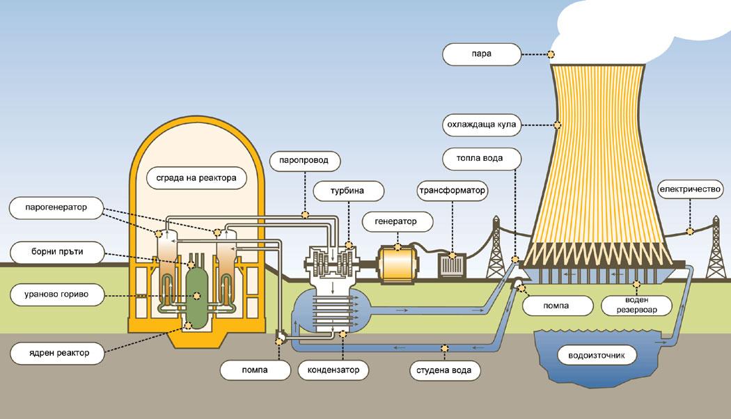 атомна центряла, ядрен реактор