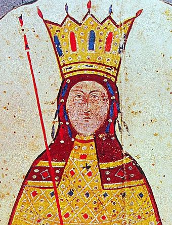 Анна Савойска, Византия