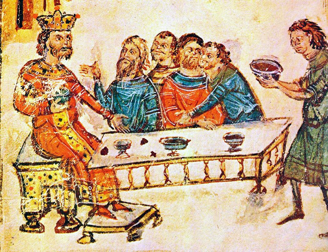 хан Крум, Манасиевата хроника