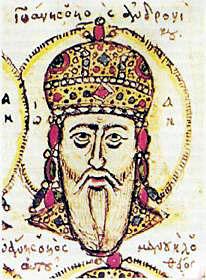 Йоан V Палеолог, Византия