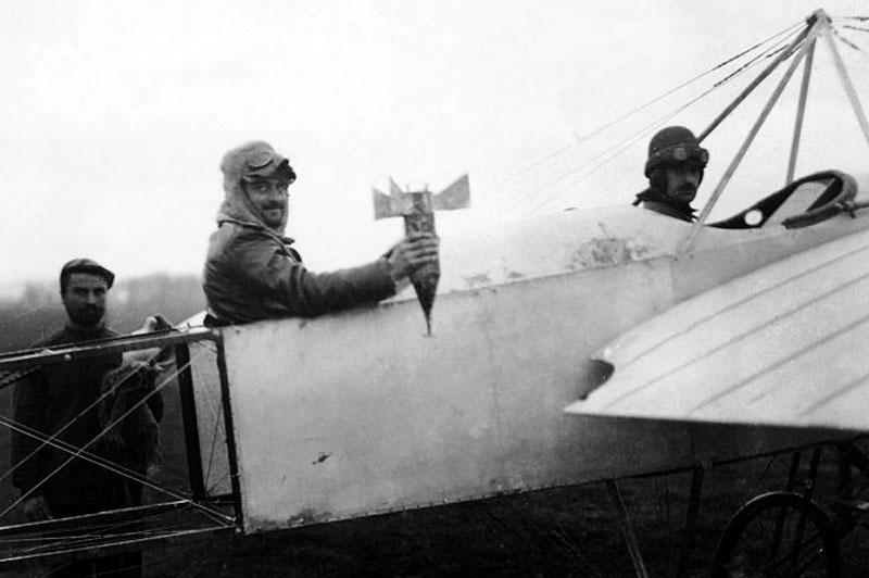 самолет Блерио 11, Балканската война 1912