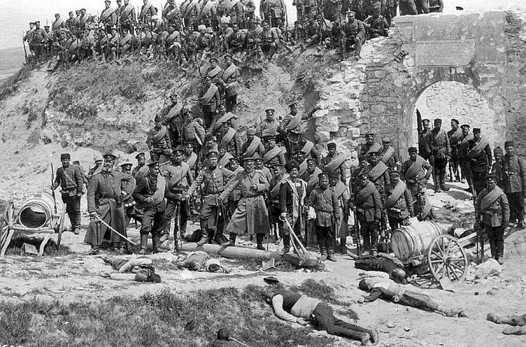 българските войски превзели форта Айвазбаба пред Одрин