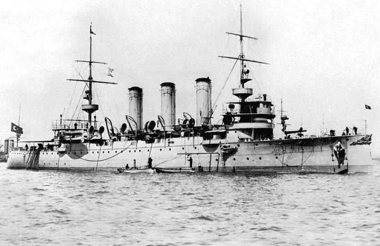 Хамидие - гордостта на турския флот