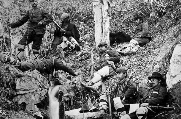 четници от Илинденско Преображенското въстание