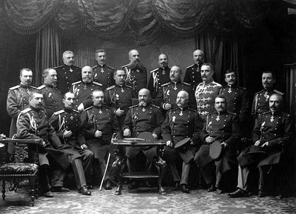 Висшият военен съвет на Българската армия през 1910 г., балканските войни