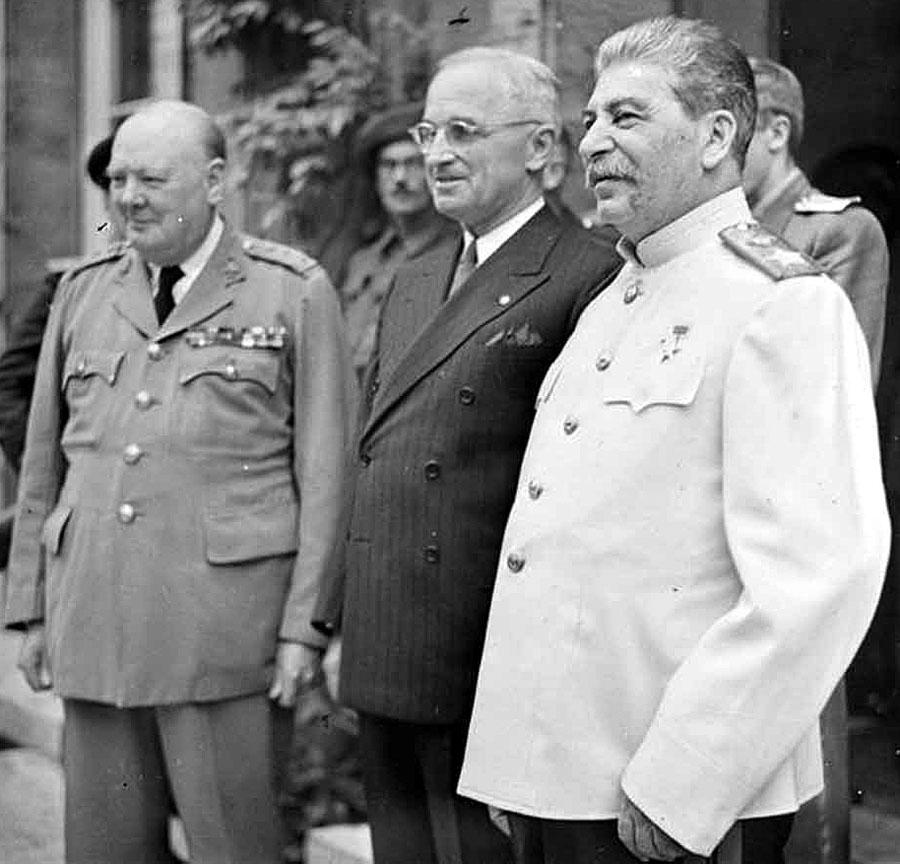 Германия след края на Втората световна война, Потсдамската конференция