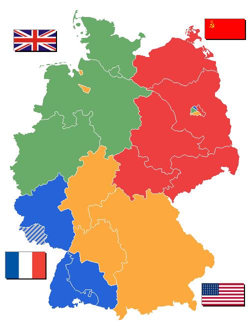Германия след Втората световна война