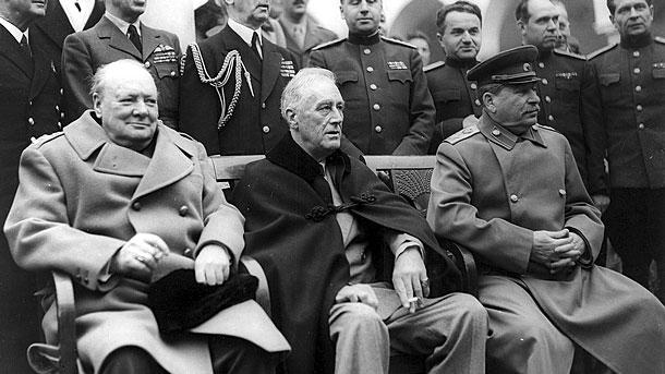 Конференцията в Ялта, началото на Студената война