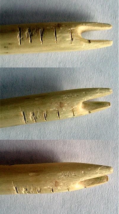 дървена стрела за лък
