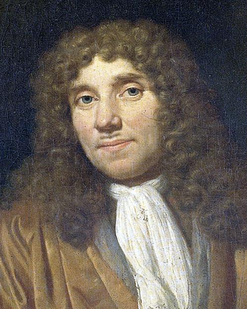 Антони ван Льовенхук, клетка