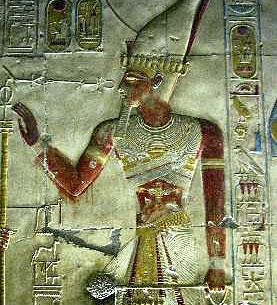 фараон Сети I, битката при Кадеш