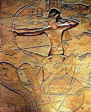 Рамзес II в битката при Кадеш